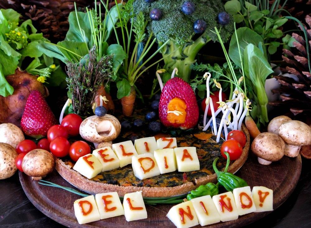 Tarta Vegana Dia del Nino