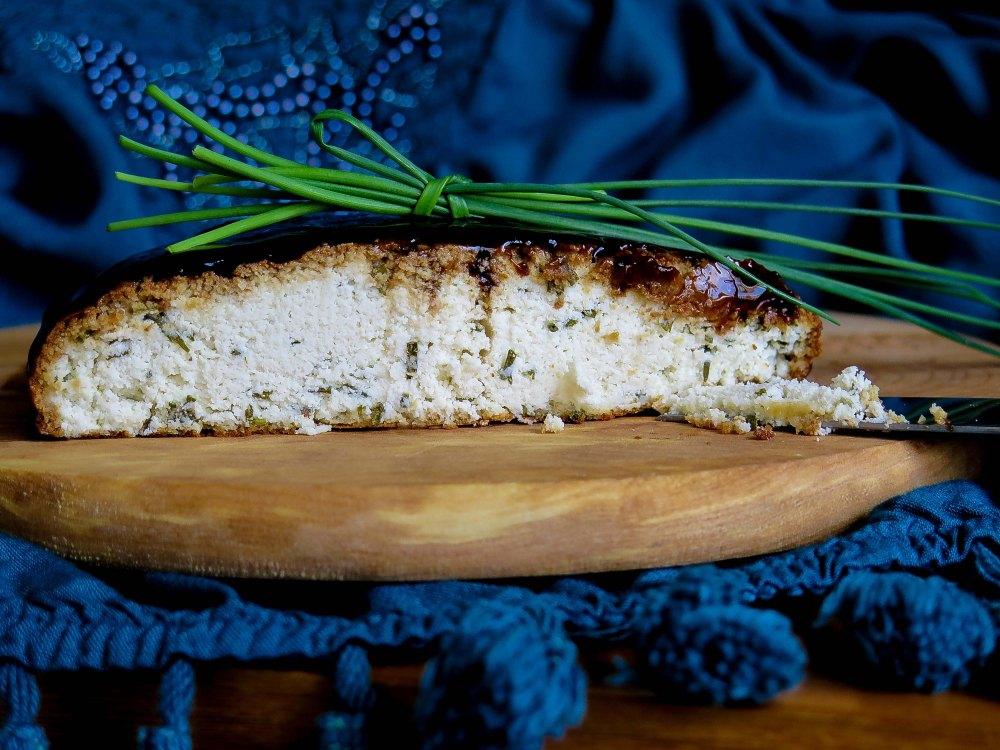 Queso de Almendras con Ciboulette 2